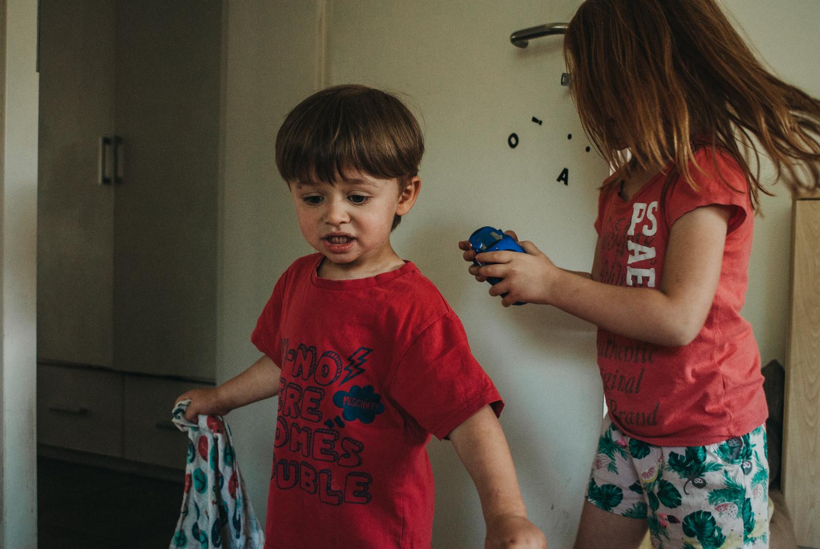 Dokumentaln fotografia rodzinna - Dzikość Serca
