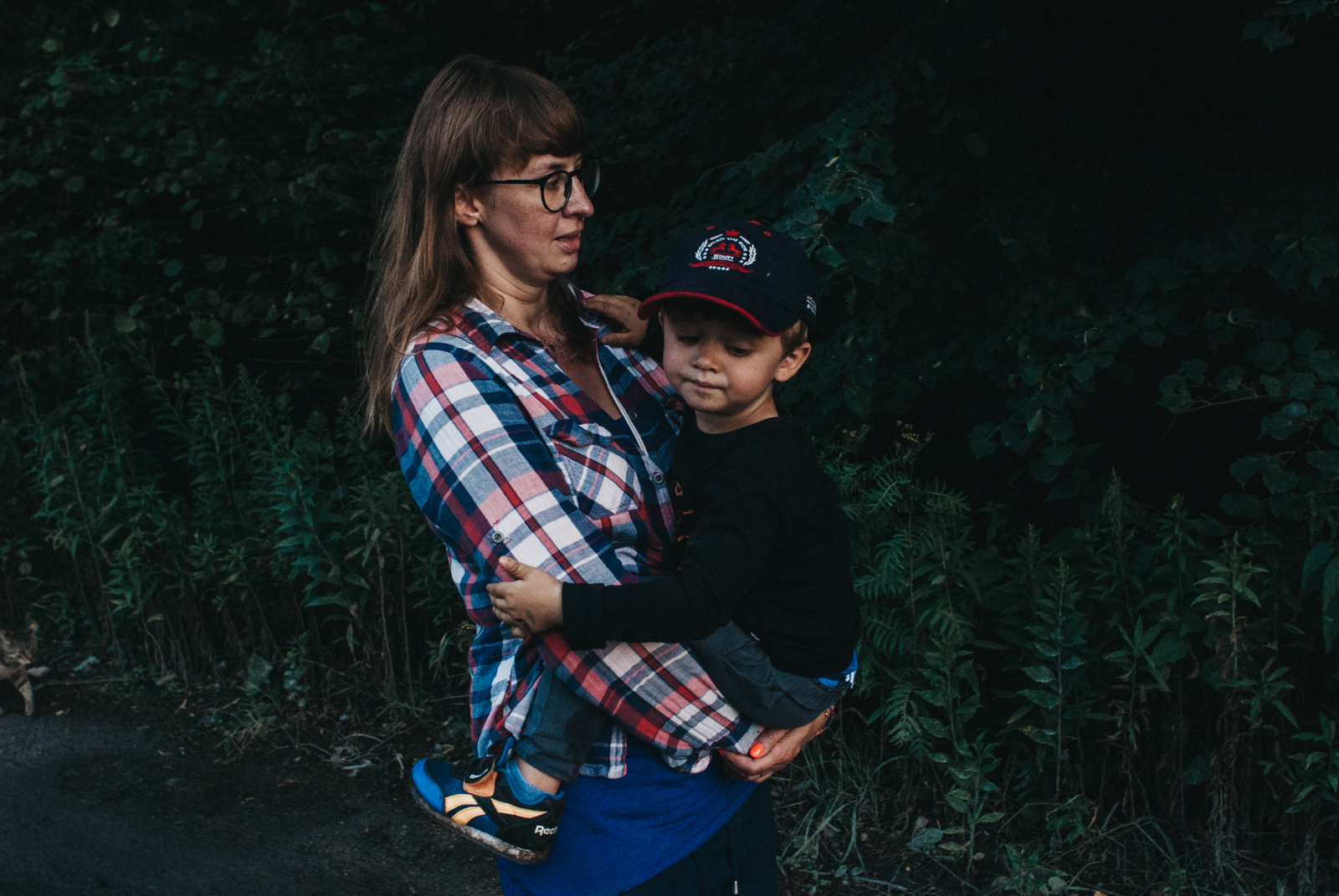Naturalna fotografia rodzinna