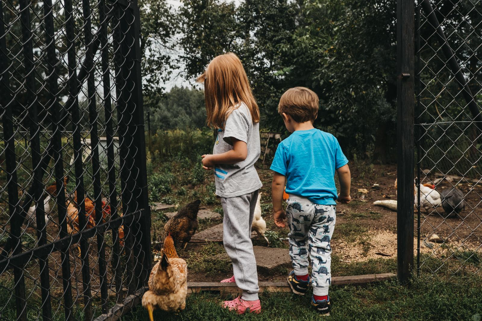 Dokumentalna fotografia rodzinna - Dzikość Serca