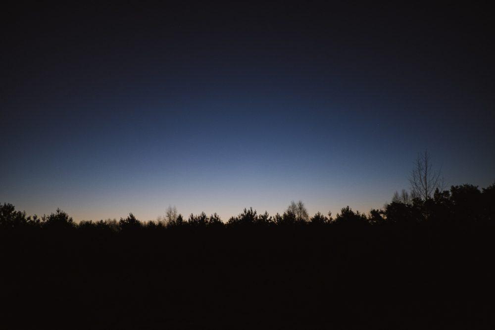 Wschód słońca - Dom podpogodnym Niebem