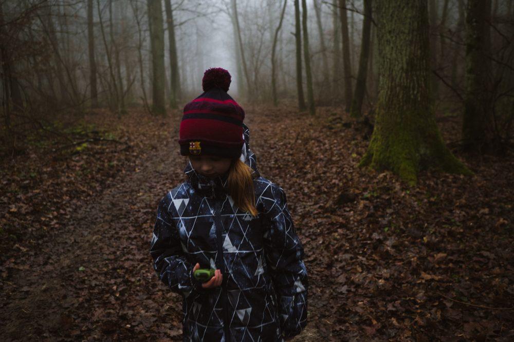 Fotografia rodzinna - Mgła - Dzikie Dzieci